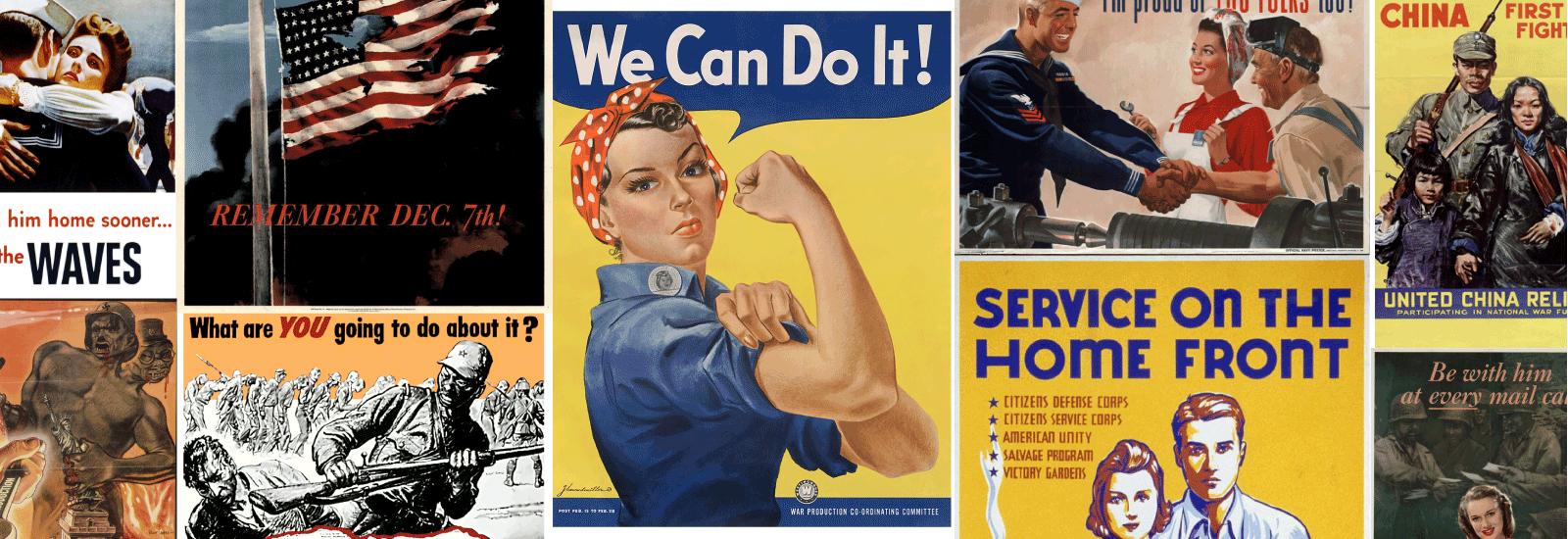 World War II Posters