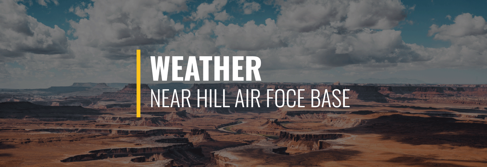 Hill Air Force Base Weather