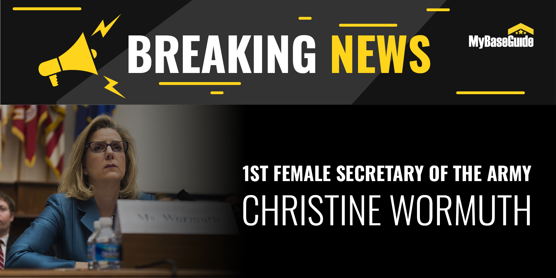 Wormuth Shatters Glass Ceiling as the 1st Female Secretary of the Army