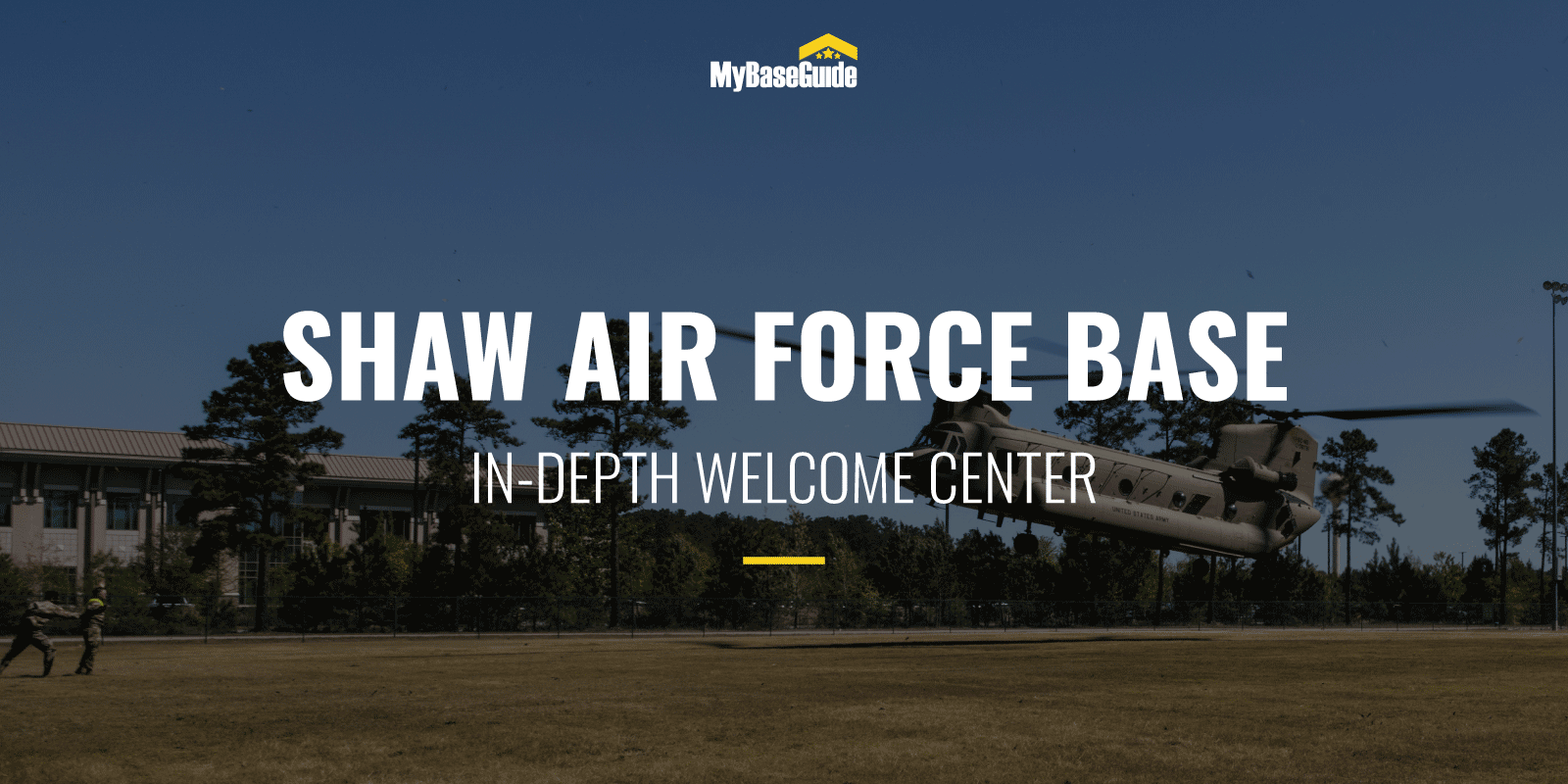 Shaw Air Force Base: In-Depth Welcome Center