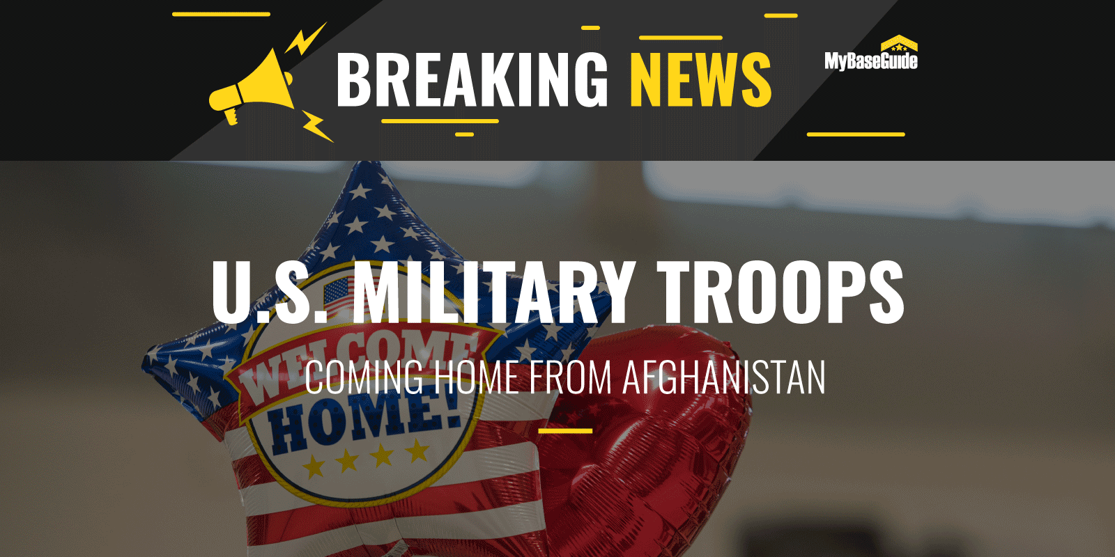 U.S. Military Troops Coming Home From Afghanistan