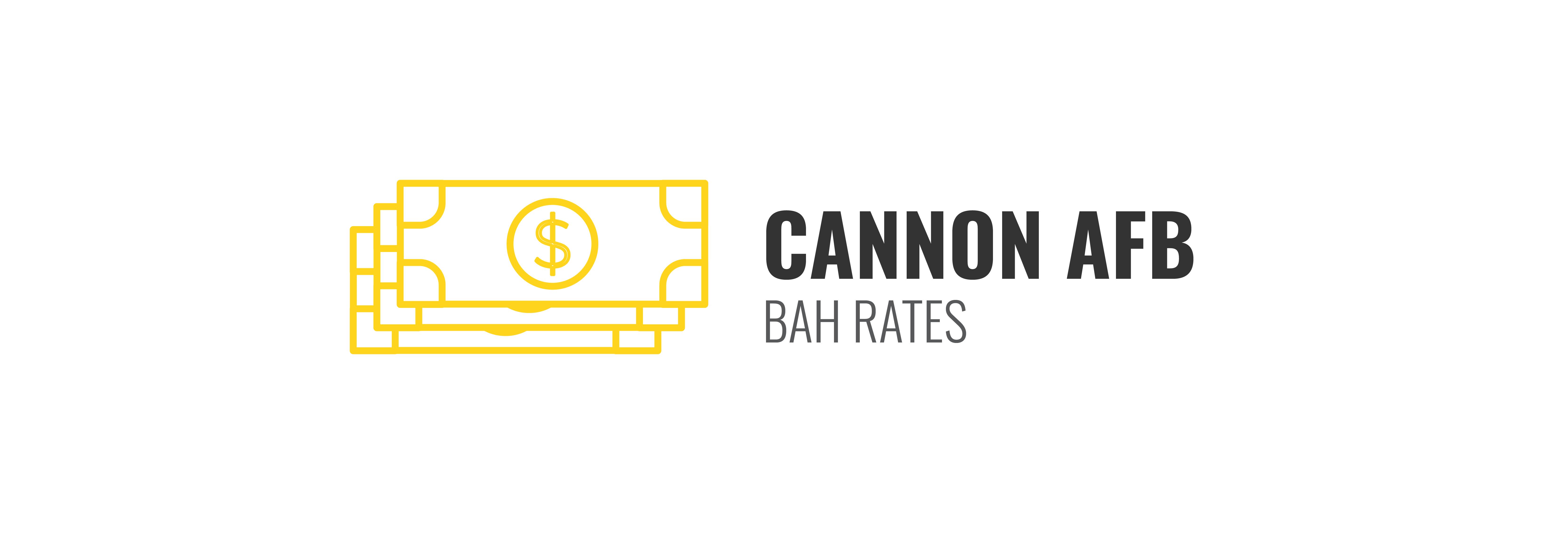 Cannon BAH Rates