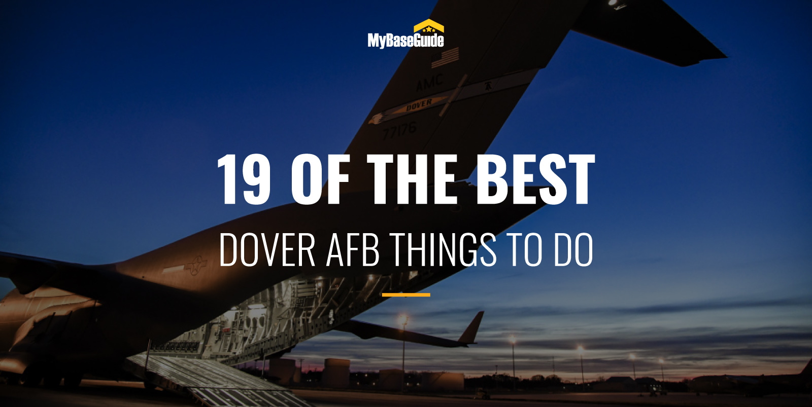 19 Of the Best Dover AFB Things to Do