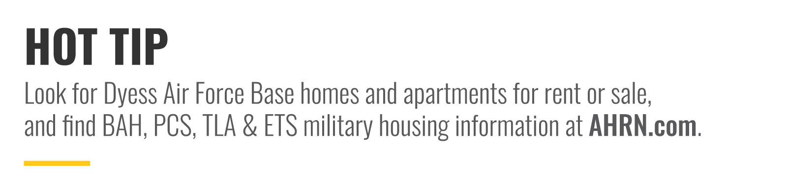 Look for homes and apartments for rent or sale at AHRN.com.