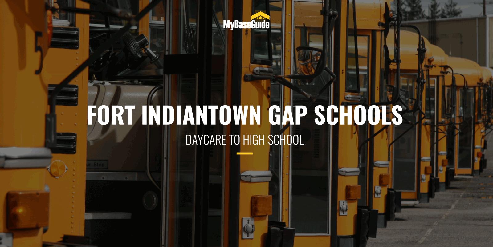 Fort Indiantown Gap Schools: Daycare - High School