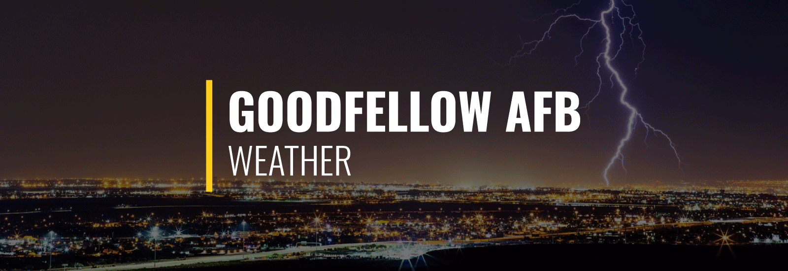 Goodfellow AFB Weather