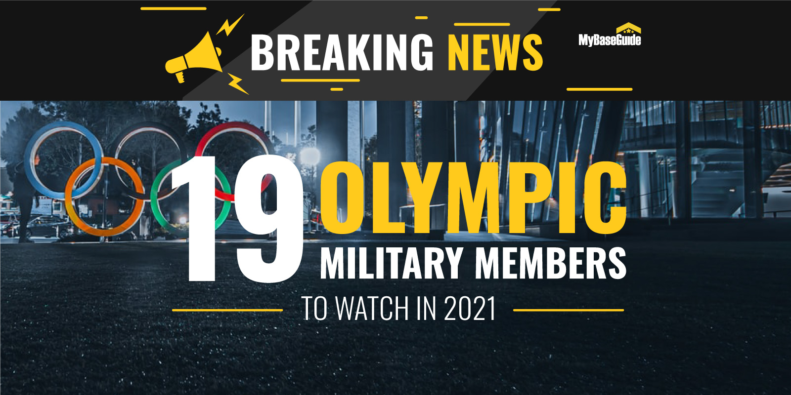 19 Military Members Participating As Athletes in the 2021 Olympics