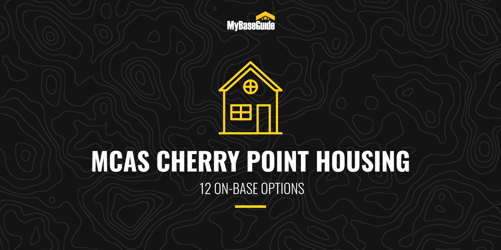 MCAS Cherry Point Housing: 12 On-Base Options