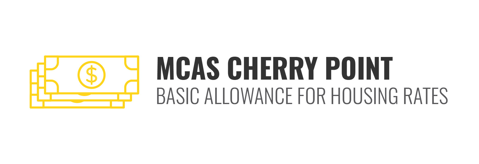 MCAS Cherry Point BAH Rates