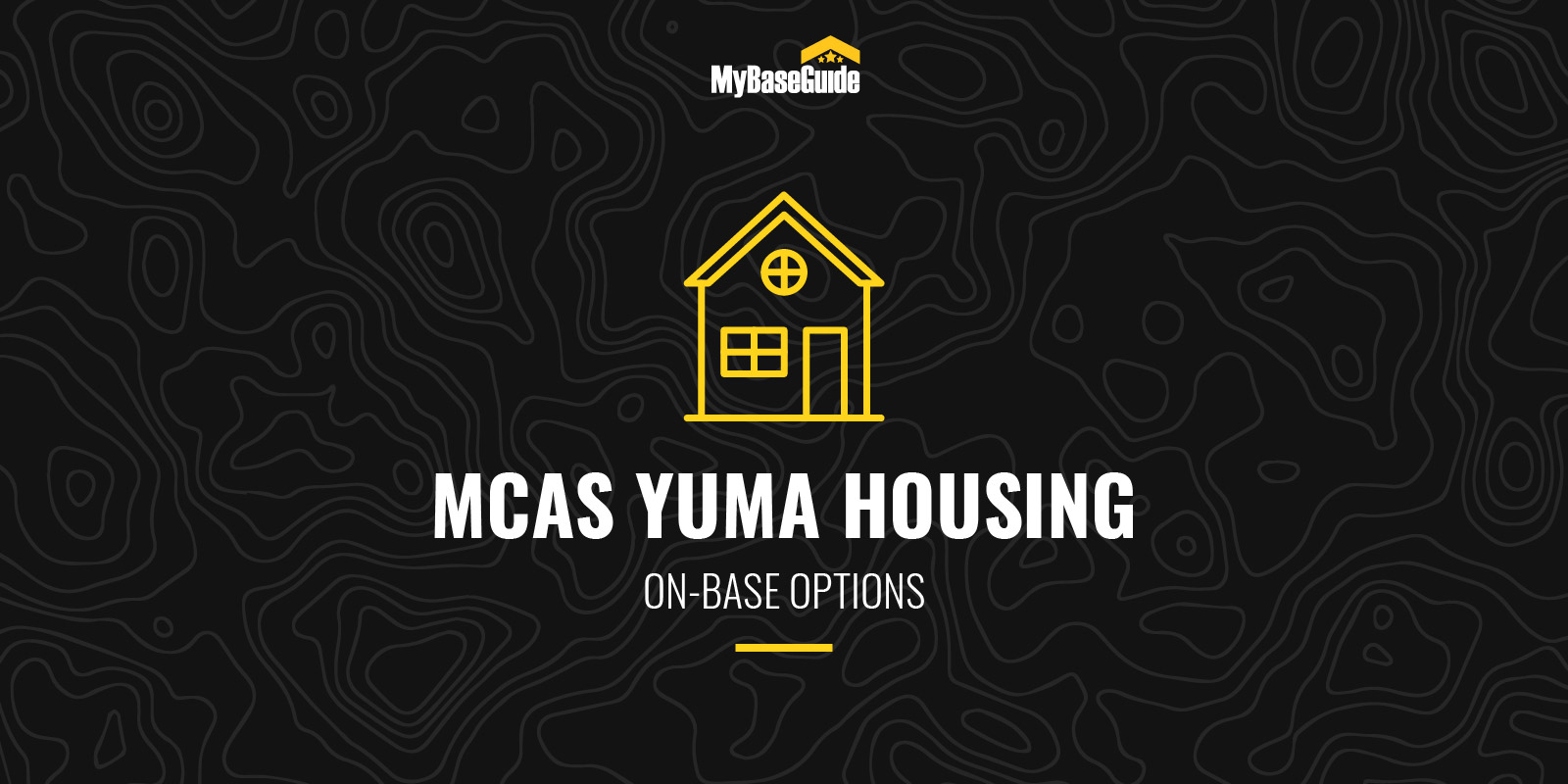 MCAS Yuma Housing: On-Base Options
