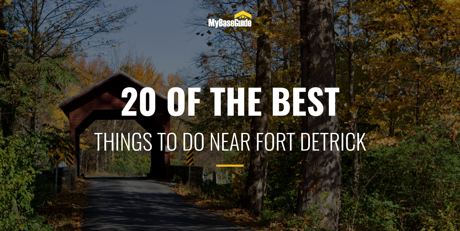 20 Of the Best Things to Do Near Fort Detrick, MD
