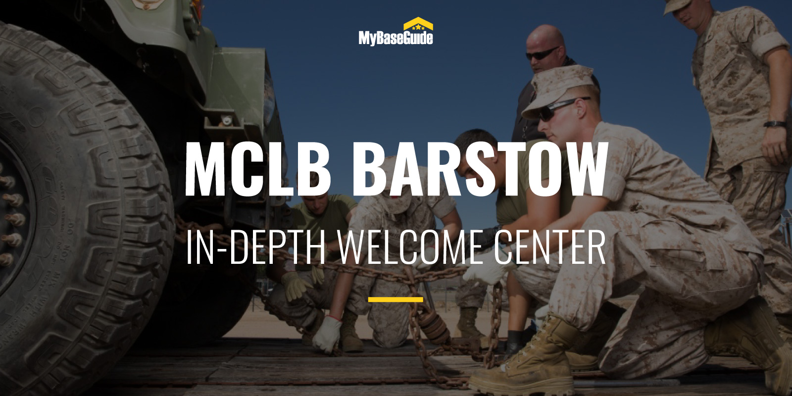 Marine Corps Logistics Base Barstow: In-Depth Welcome Center