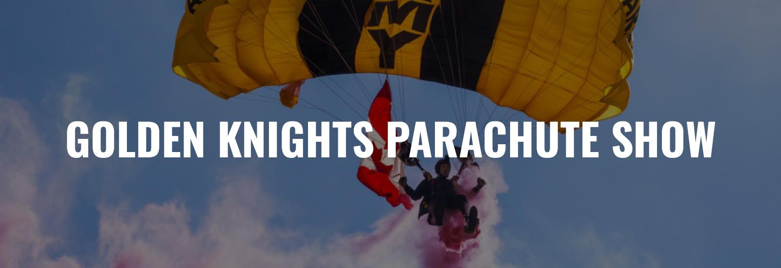 Golden Knights Parachute Show