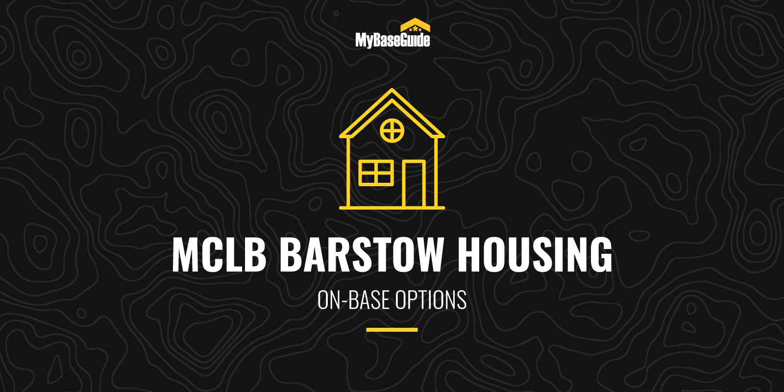 MCLB Barstow Housing: On-Base Options