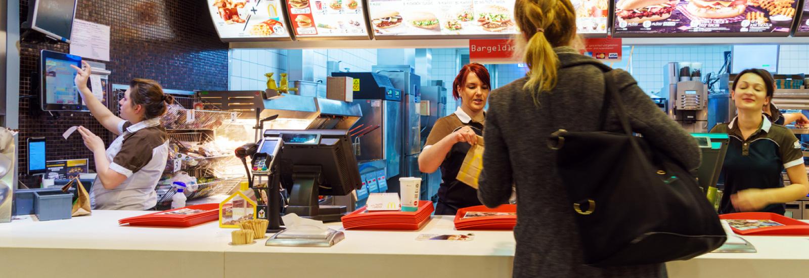 Fast Food on NS Norfolk