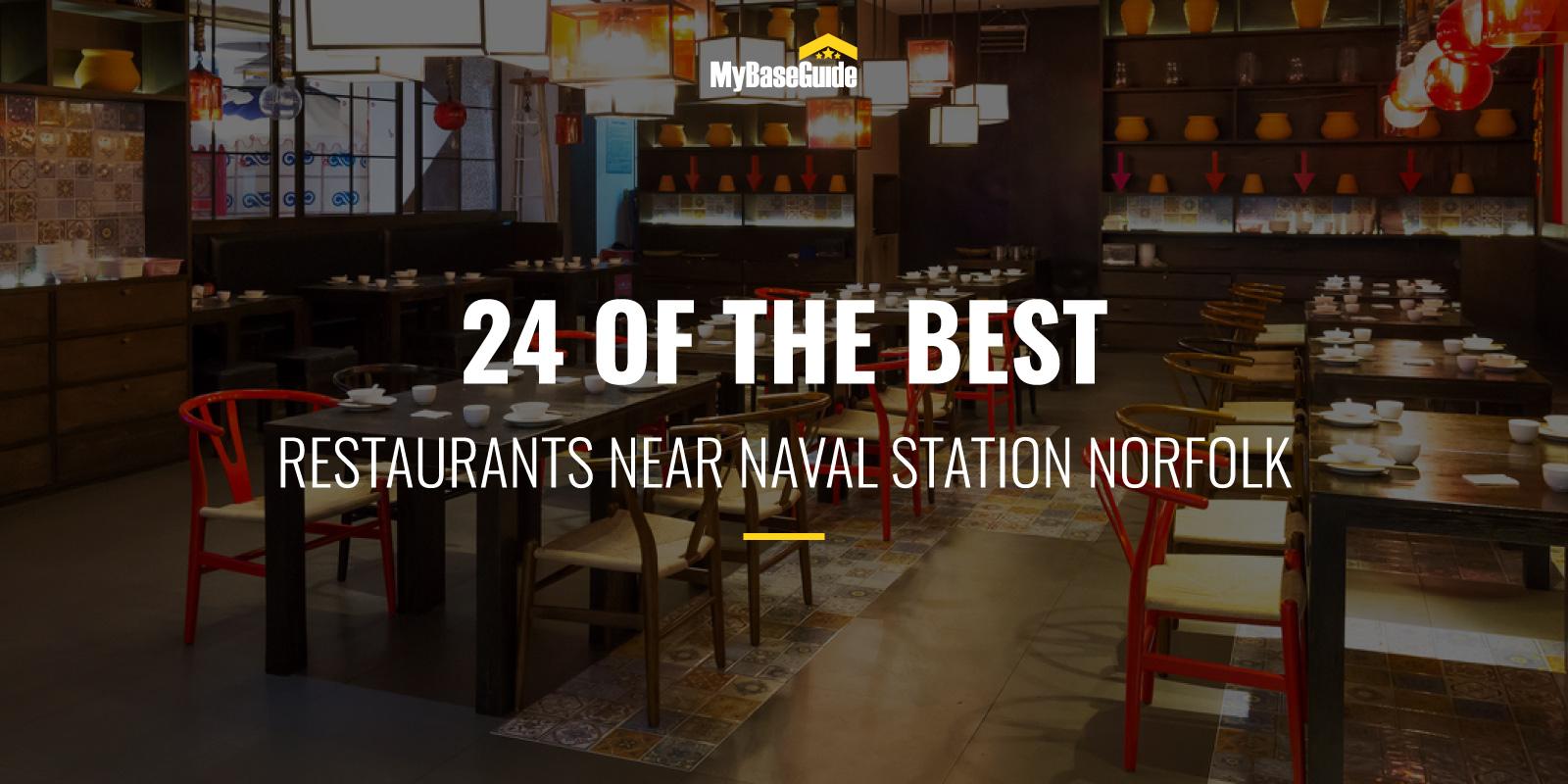 24 Of the Best Restaurants Near Naval Station Norfolk