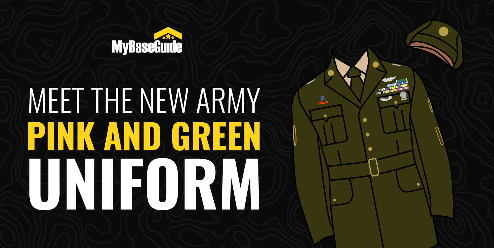 Meet the New Army Pink and Green Uniform