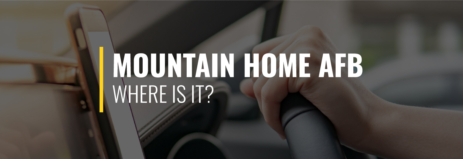 Where Is Mountain Home AFB?