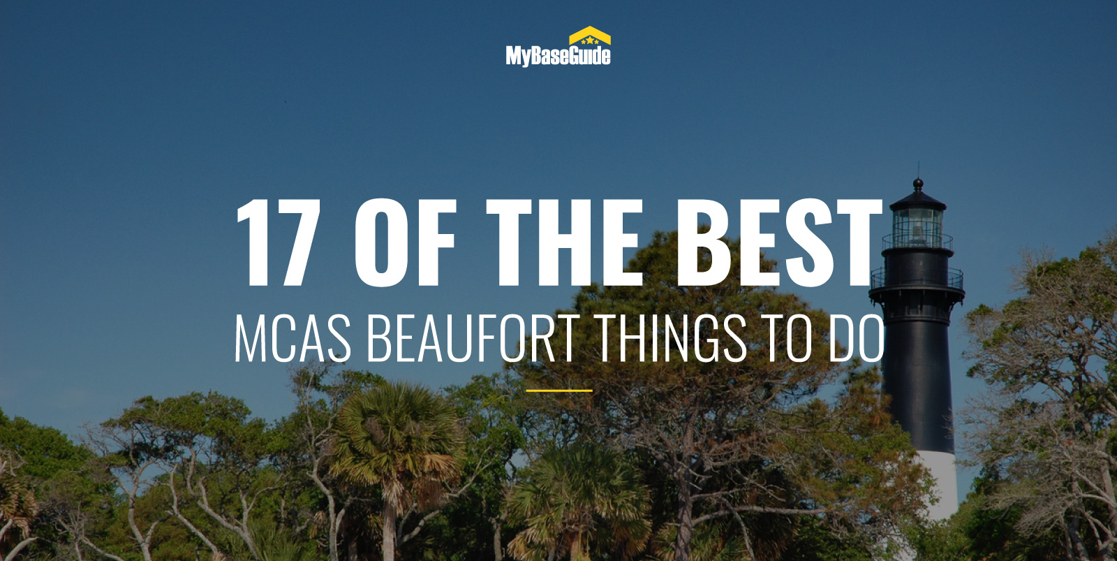 17 of the Best MCAS Beaufort Things To Do