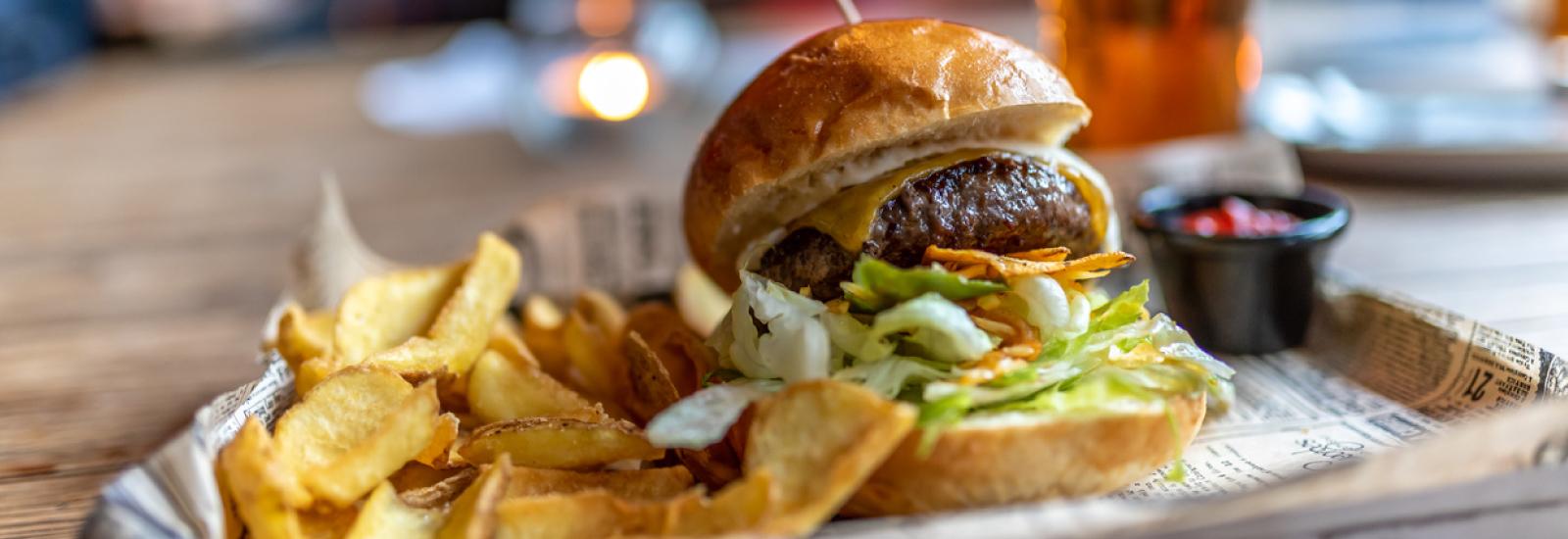 Burger Restaurants Near Mountain Home AFB