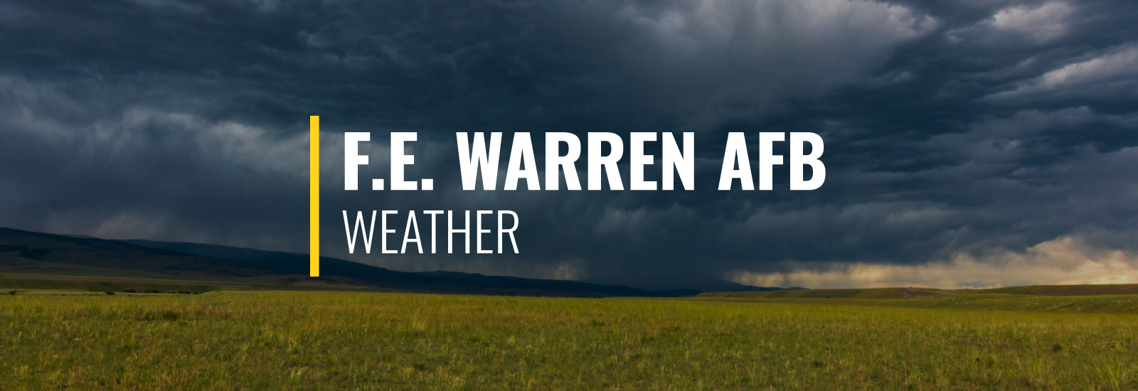 F. E. Warren AFB Weather