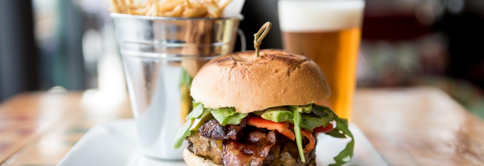 Fast Food on Beale AFB